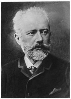 Photographic portrait of Pyotr Ilyich Tchaikovsky